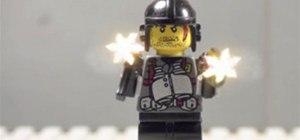 Lego Mini-Figure Shootout - Stop Motion Insanity