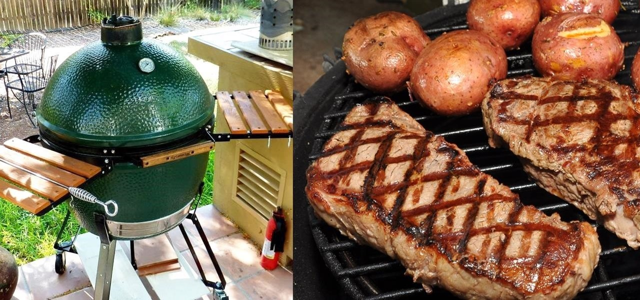 Food tool friday meet the big green egg the ultimate for Cuisine on the green