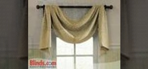 Measure for fabric window valances