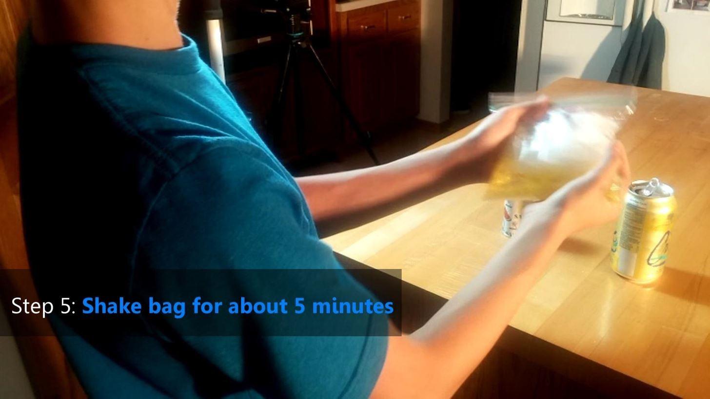 how to make slushy ice