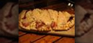 Make a Reuben style flatbread pizza