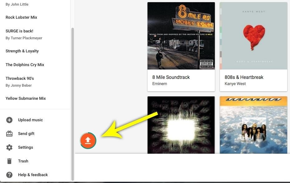 Free Up Space on Your Phone—Upload & Stream Songs on Google Play Music