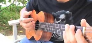 Pluck strum like Jake Shimabukuro when playing the ukulele