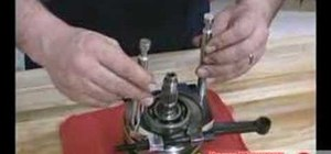 Do a crank bearing removal on an ATV or motorcycle