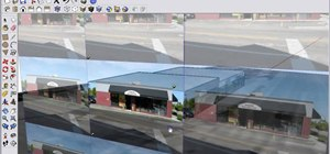 Create a Google SketchUp image that you can upload to Google Earth