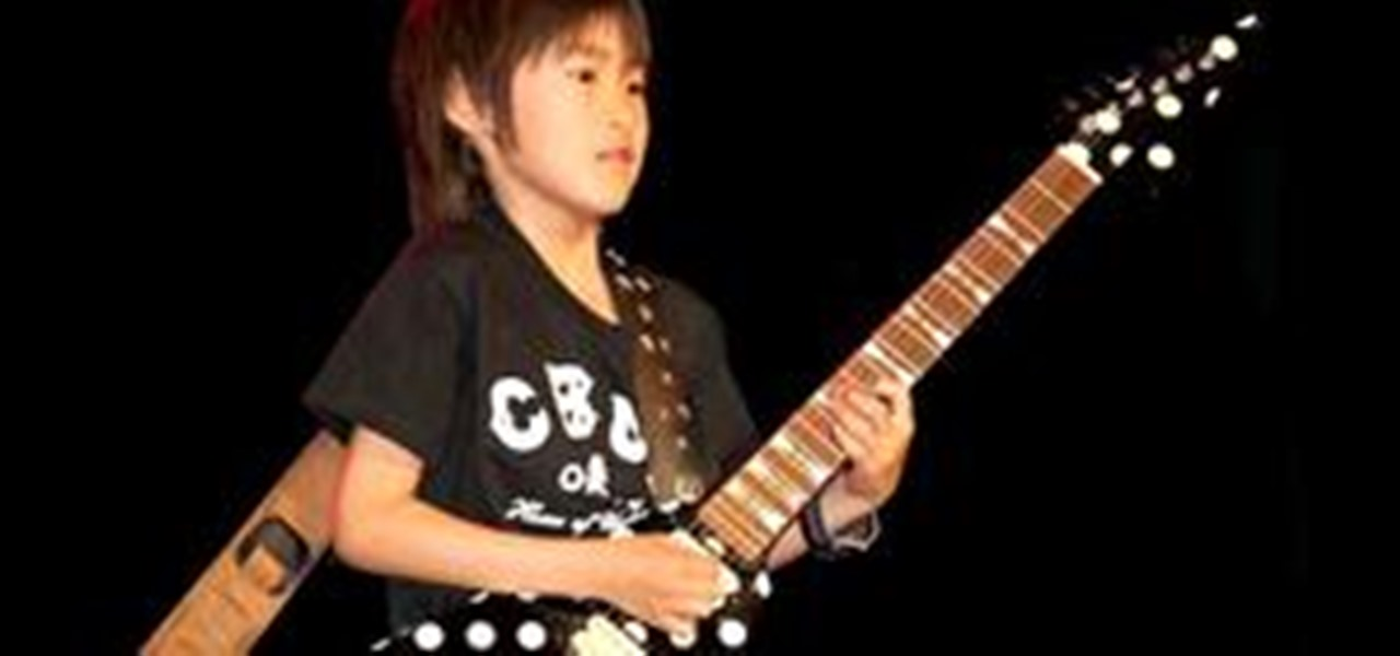 japanese guitar prodigy performs with ozzy osbourne electric guitar wonderhowto. Black Bedroom Furniture Sets. Home Design Ideas