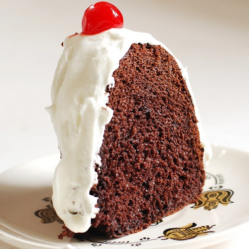Vintage RECIPE: Chocolate Ice Cream Cake