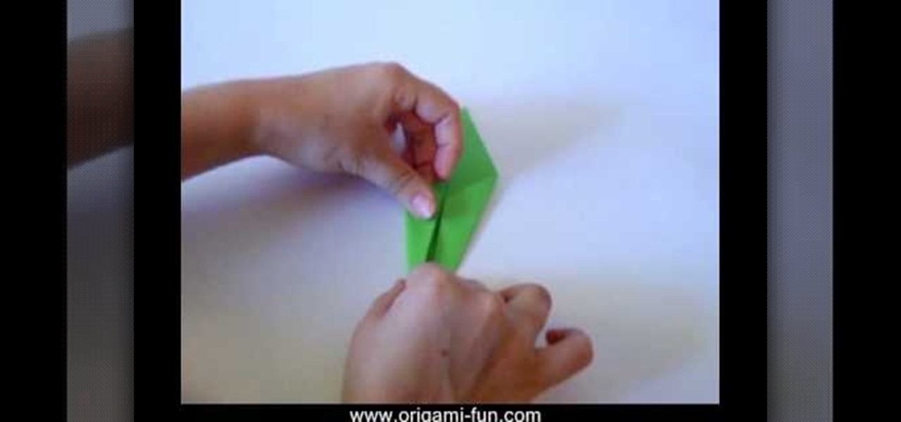 How to origami a flower stem origami wonderhowto mightylinksfo