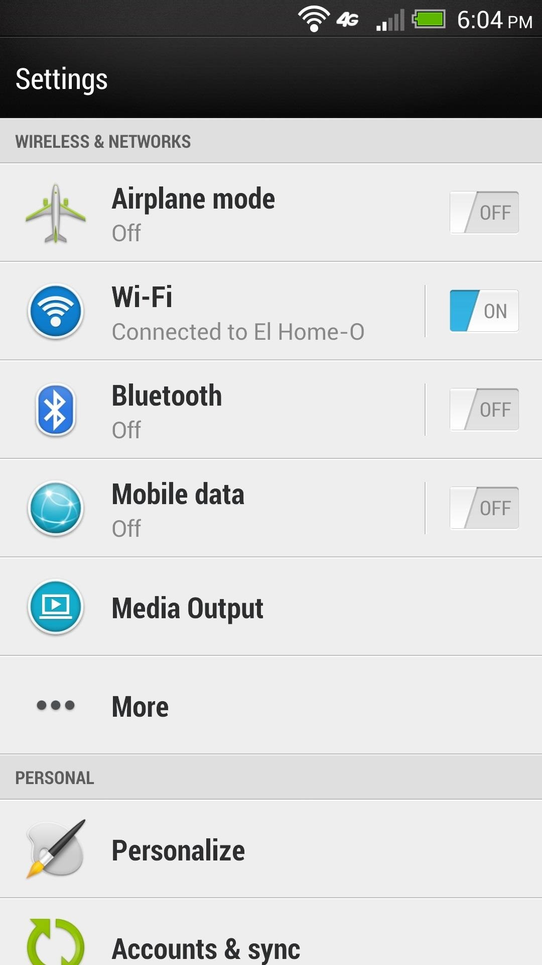 How to Revert Back to a More Traditional Sense-Style Home Screen on Your HTC One