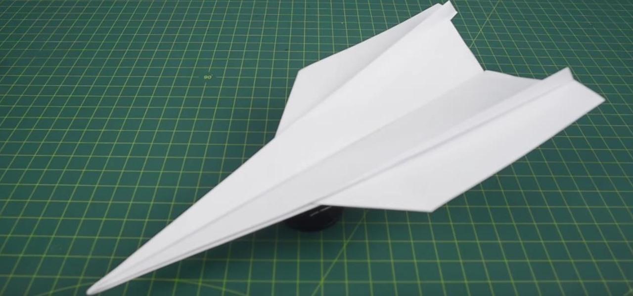 Origami Aeroplane That Flies Far