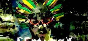 Datamosh or combine two videos to create digital art