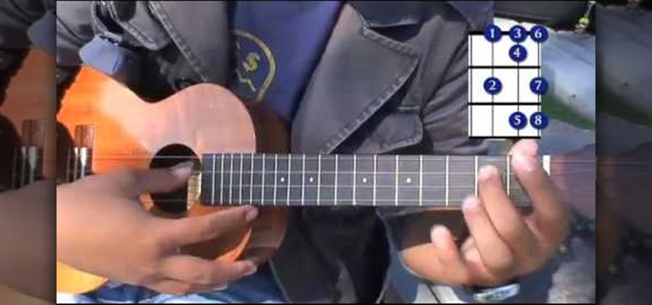 How To Play High Major Chords On The Ukelele Ukulele Wonderhowto