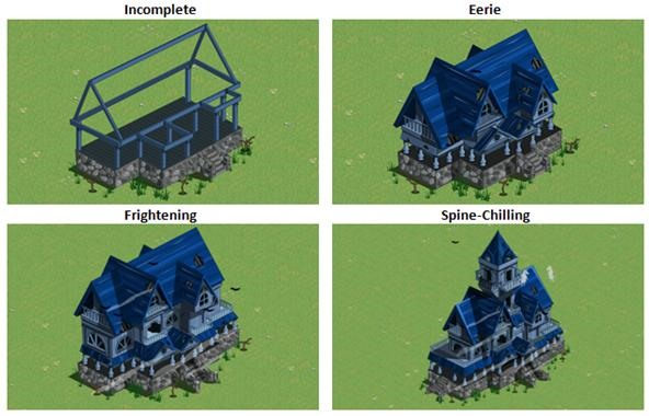 Farmville haunted house farmville wonderhowto for Build a haunted house