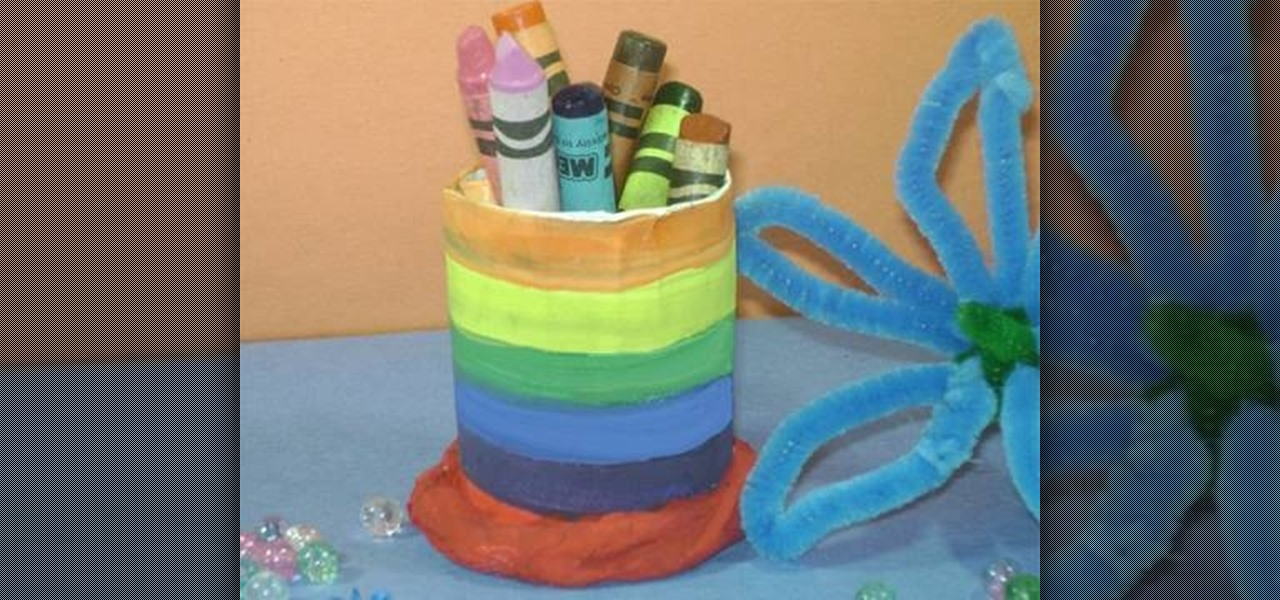 How To Make A Simple Pencil Holder 171 Kids Activities