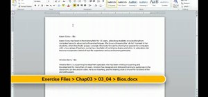 Use Quick Filing to import information in OneNote 2010
