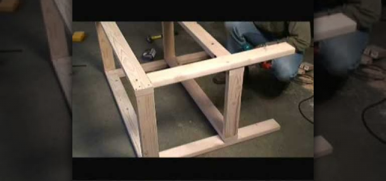 How to Build a garage workbench � Furniture & Woodworking