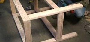 Build a garage workbench