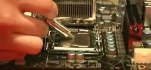 Apply thermal compound to a CPU