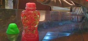 Make a lava lamp as a cool science experiment for kids