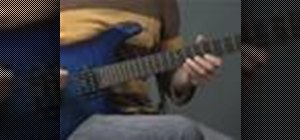 Play blues on an electric guitar like Joe Bonamassa