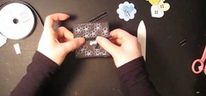 Craft inexpensive mini blank cards with $1 supplies