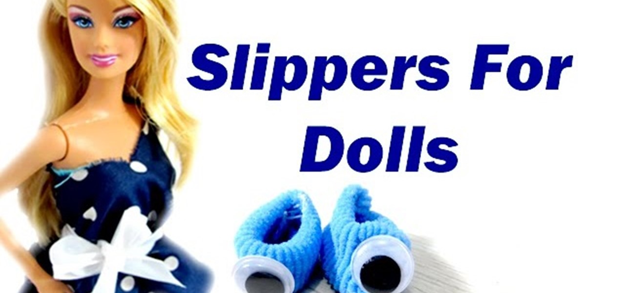 How to Make Doll Barbie Slippers