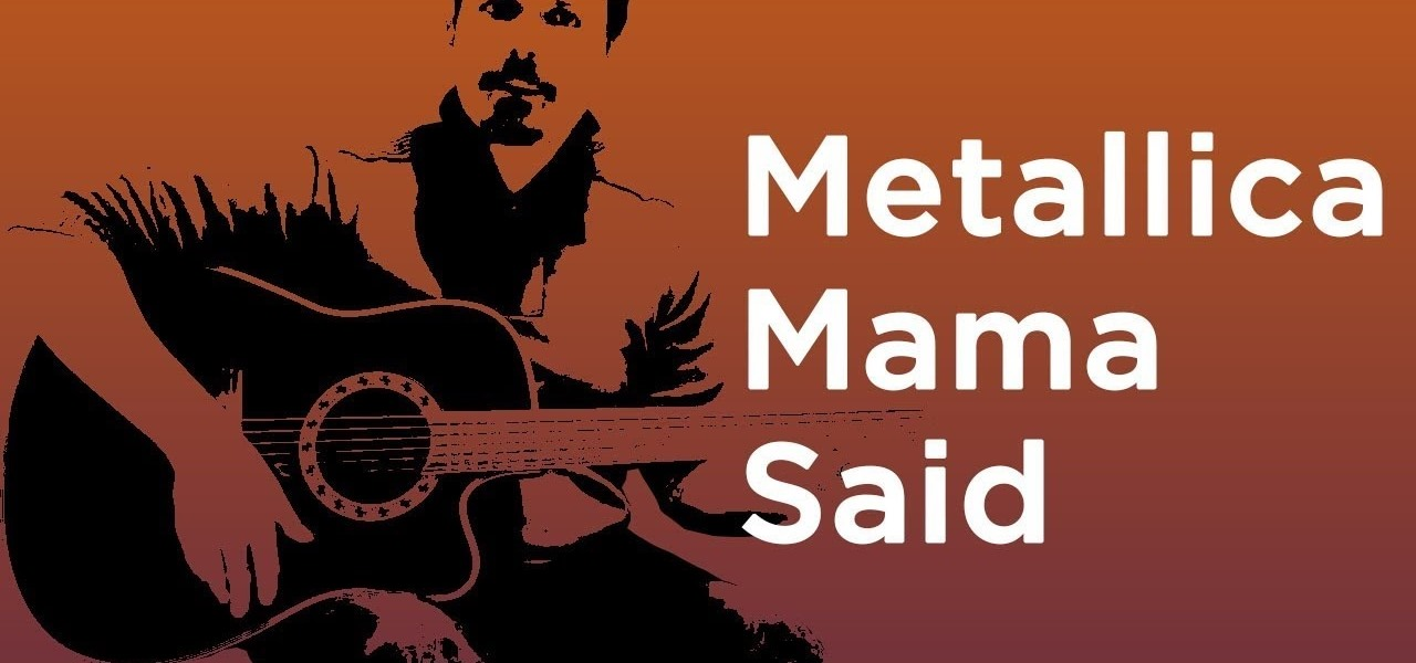 Metallica Mama Said Guitar Tutorial Easy Chords Full Lesson