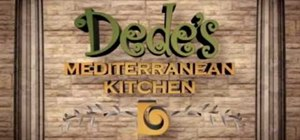 Make Mediterranean hummus from scratch with Dede
