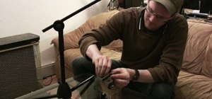 Make a Steadycam stabilizer out of an old mic stand