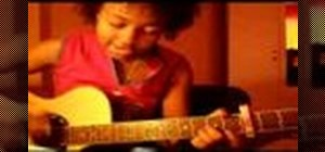 "Play ""Kiss Me"" by  Sixpence None The Richer on guitar"