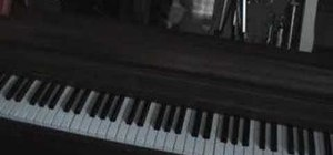 "Play ""Crawling"" by Linkin Park on piano"