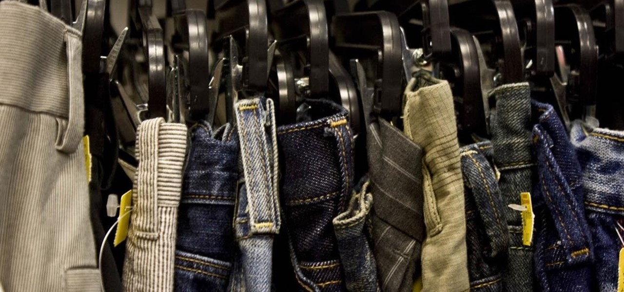 The Best Way to Hang Dress Pants and Jeans So They Actually Stay on the Hangers