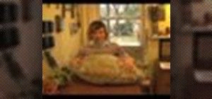 Make a hubbard squash apple cake