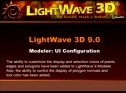 Configure your LightWave Modeler user interface