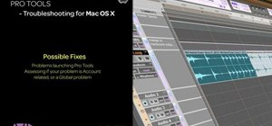 Troubleshoot Pro Tools problems on a Mac by creating a new user account