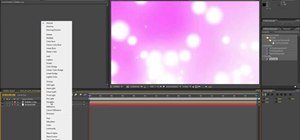 Create a particle animation loop with After Effects & Trapcode Particular