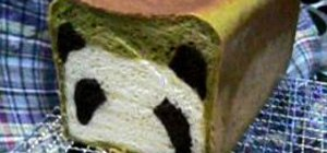 Make-It-Yourself Panda Bread