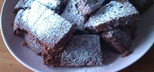 The Devilish Triple chocolate Brownies