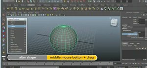Create polygonal objects in Autodesk Maya 2011