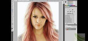 Change hair color in Adobe Photoshop