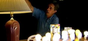 Save money and energy using a compact fluorescent bulb