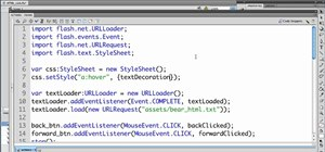 Rendering simple HTML in a text field in Flash Builder CS5