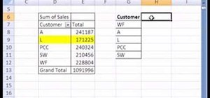 Use alternatives to pivot tables in Microsoft Excel
