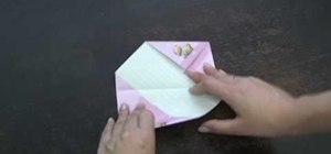 Fold your letter into a cool shape