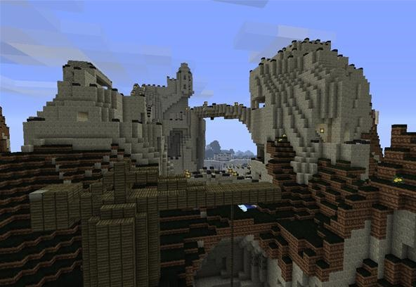 The Forbidden Underground City is Coming Along Well