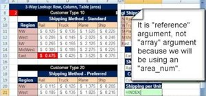 Do 1-, 2- & 3-way lookups with Excel's INDEX & MATCH