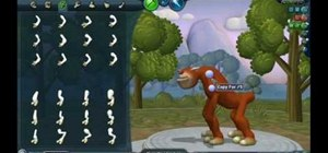Make a creature in SPORE Creature Creator