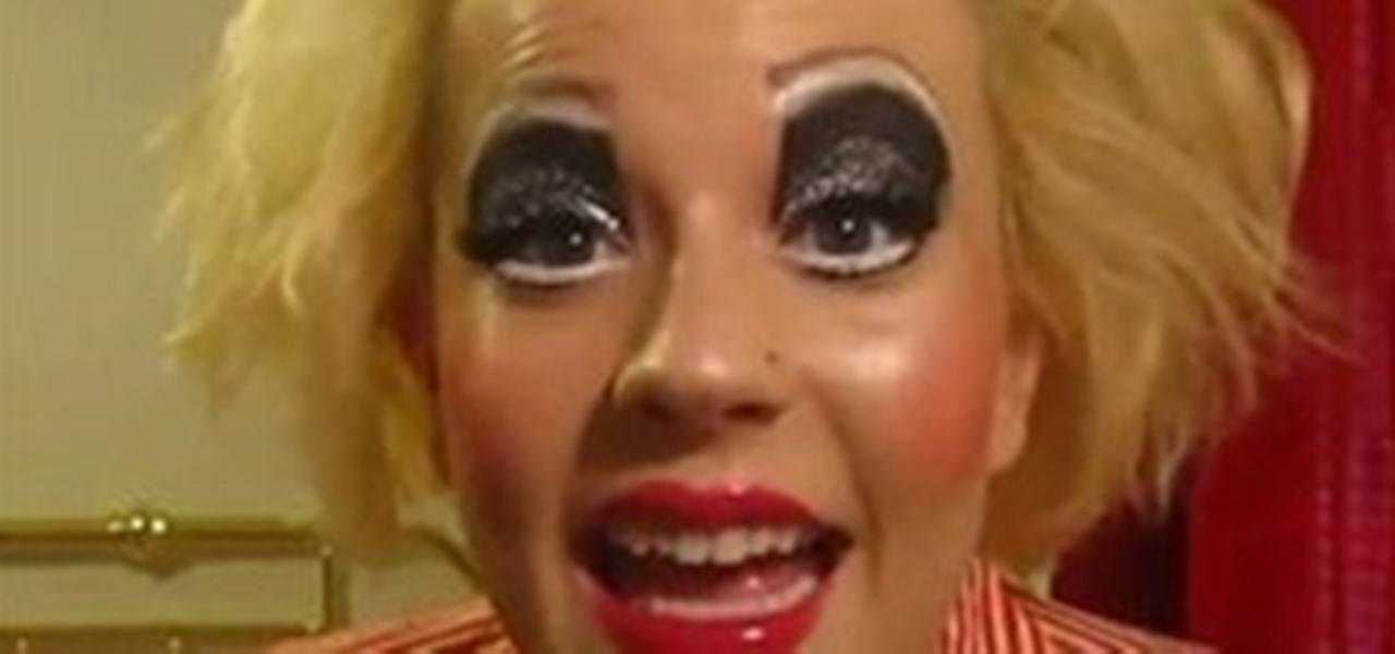 halloween clown costume makeup