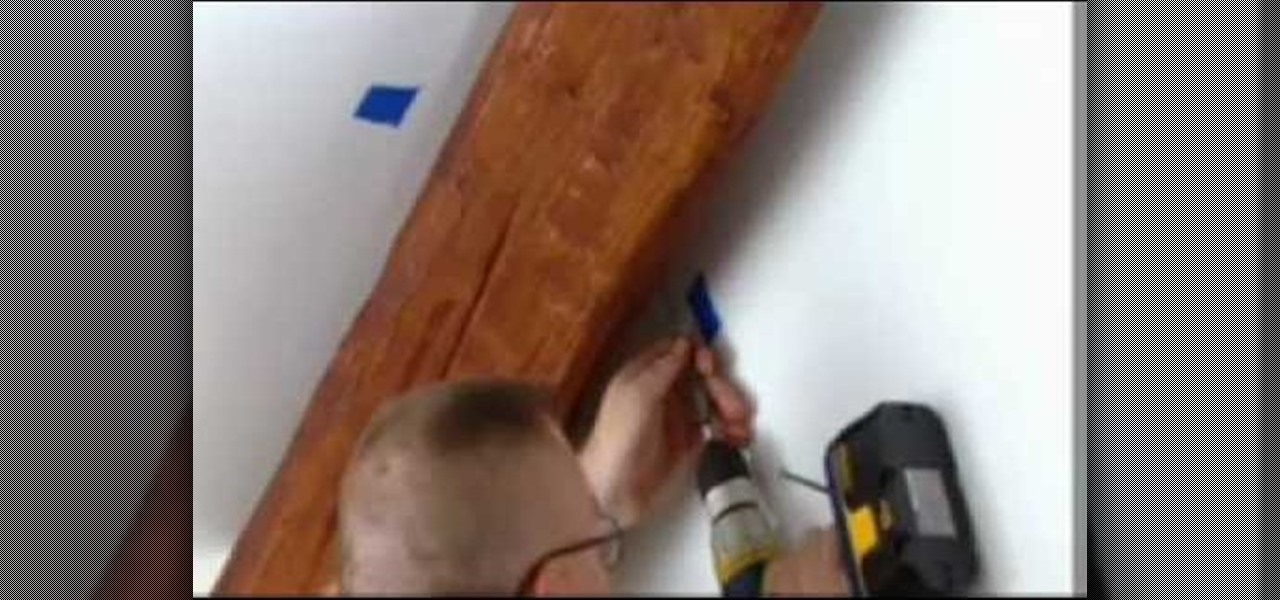 Installing Faux Wood Beams On Vaulted Ceiling: How To Install Faux Wood Cathedral Ceiling Beams In Your