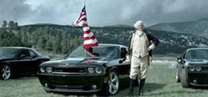 Dodge Challenger Commercial Aired During US v England